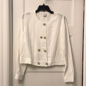 Cabi Piazza linen jacket size medium.
